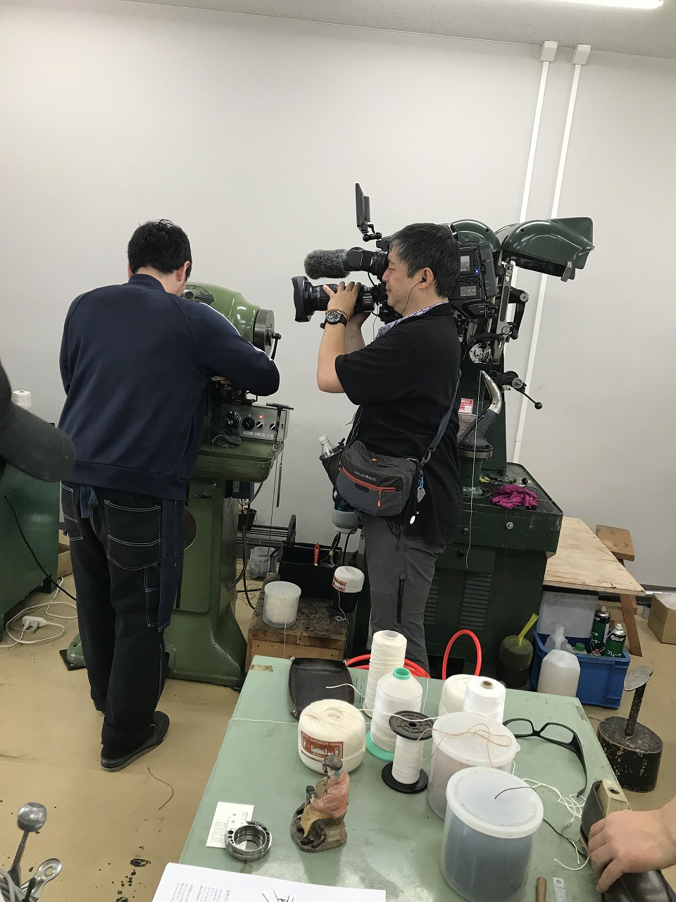 [NHK取材] 「ひるまえほっと」浅草の地場産業 革のものつくりと皮革産業資料館